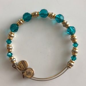 Alex and Ani Jet Set Gypsy Bracelet